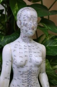 Meridiane Akupunktur Therapie